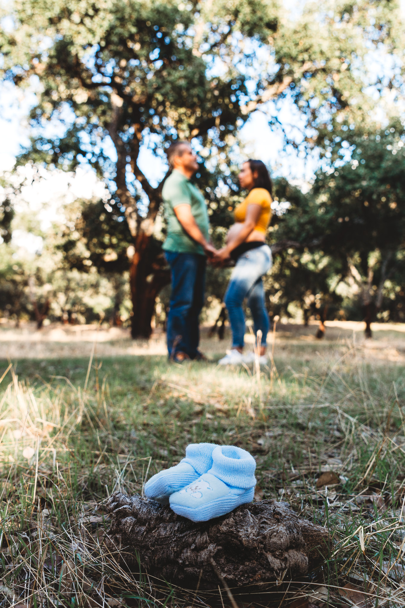 fotos de embarazada en monesterio