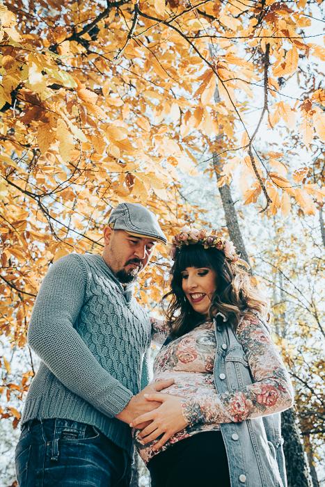 embarazo en exteriores
