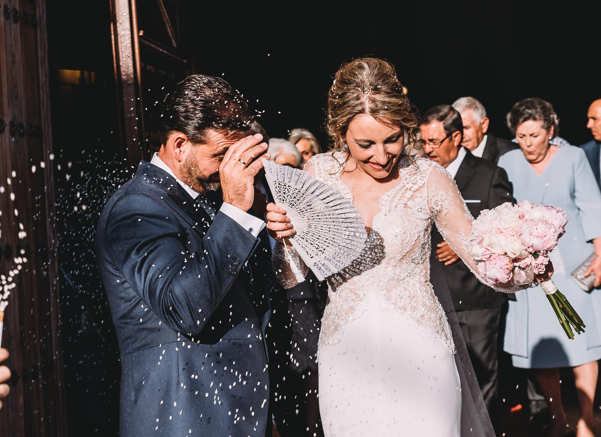fotografia de boda en monesterio