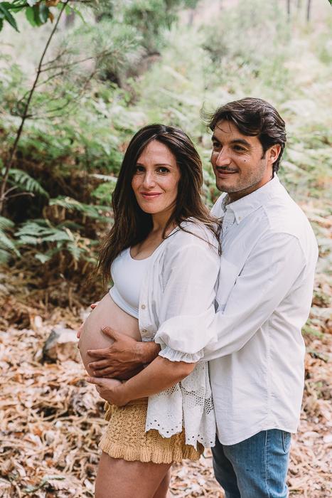 fotografia de embarazo en monesterio