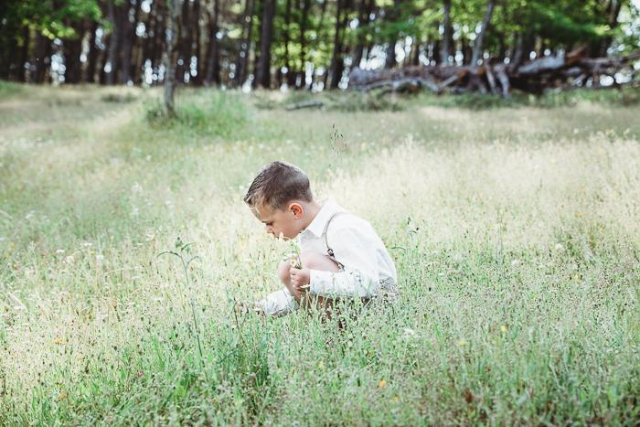 sesión de fotos infantil en monesterio