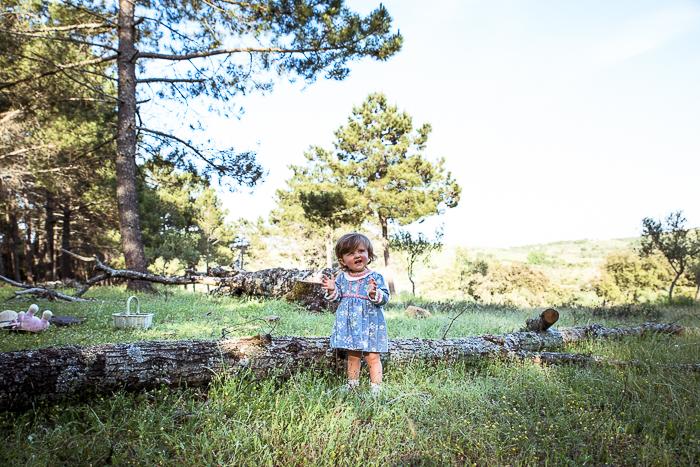 reportaje de fotografia infantil en monesterio